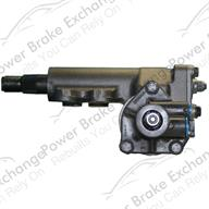 Power Steering Gear Box - Front View